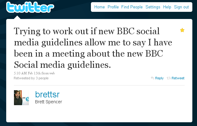bbc social media guidlines policy