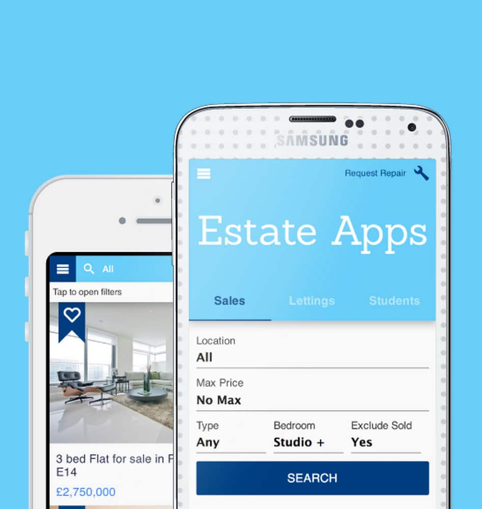 estate apps use