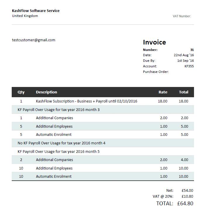 Invoice 4 new