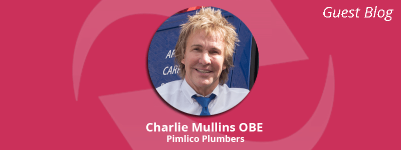 Charlie Mullins OBE and founder of Pimlico Plumbers