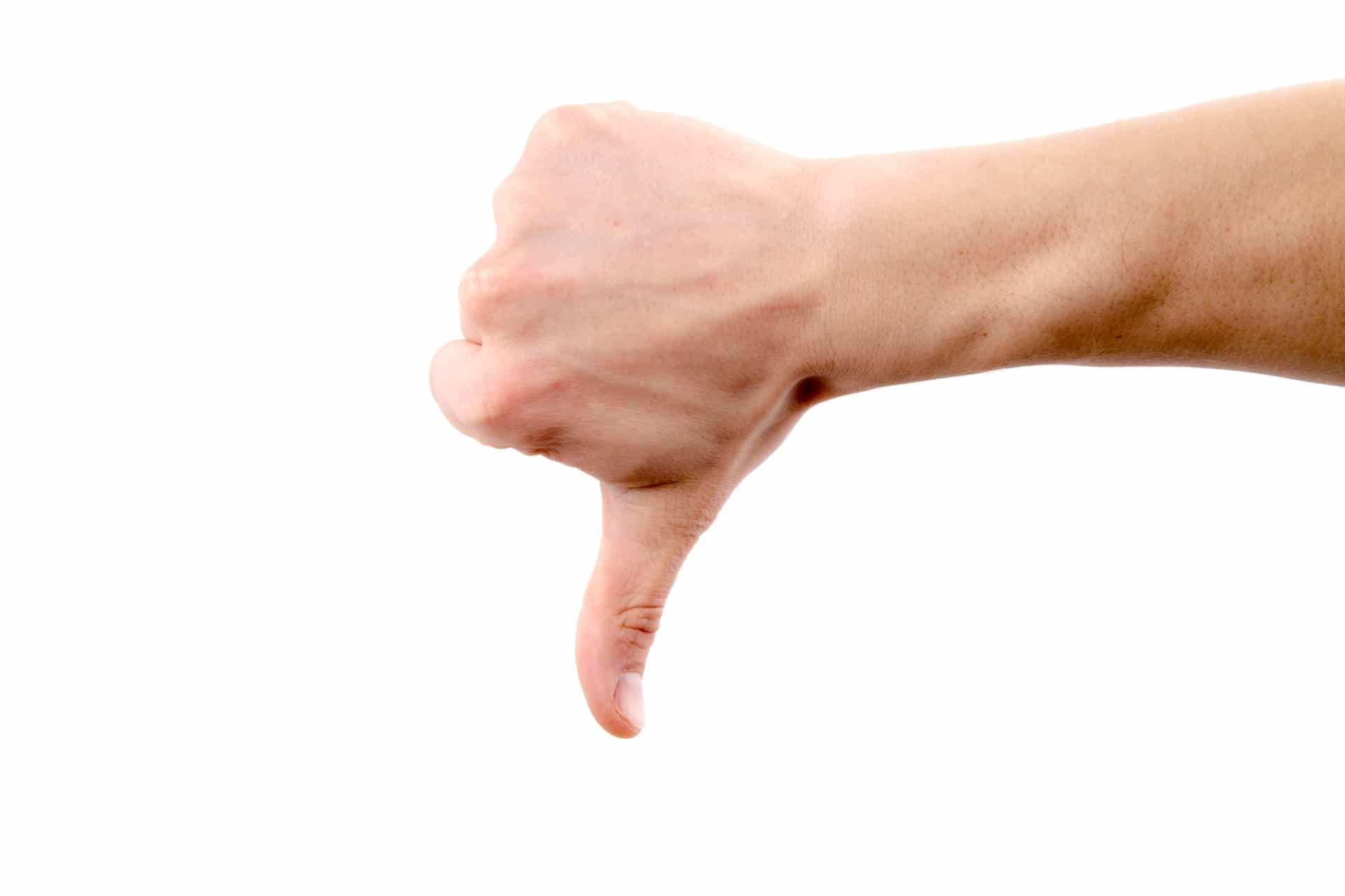 hand-with-thumb-down