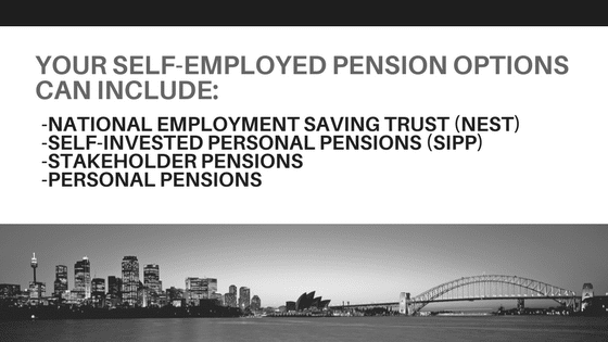 Options for Self Employed Pensions