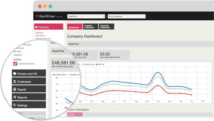 Manage your payroll in a couple of clicks