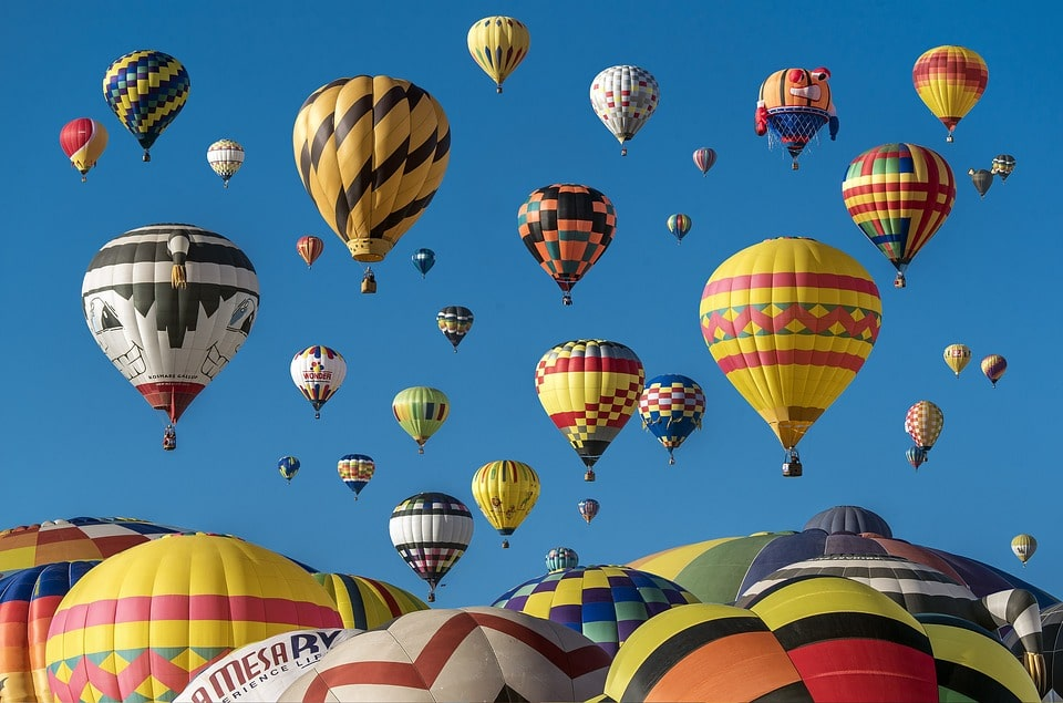 Win a Hot Air Balloon Ride for two!!