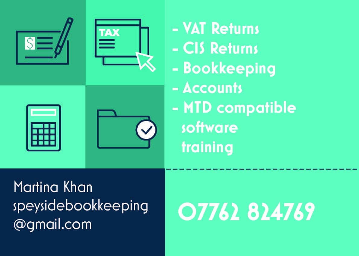 SPEYSIDE BOOKKEEPING SERVICES